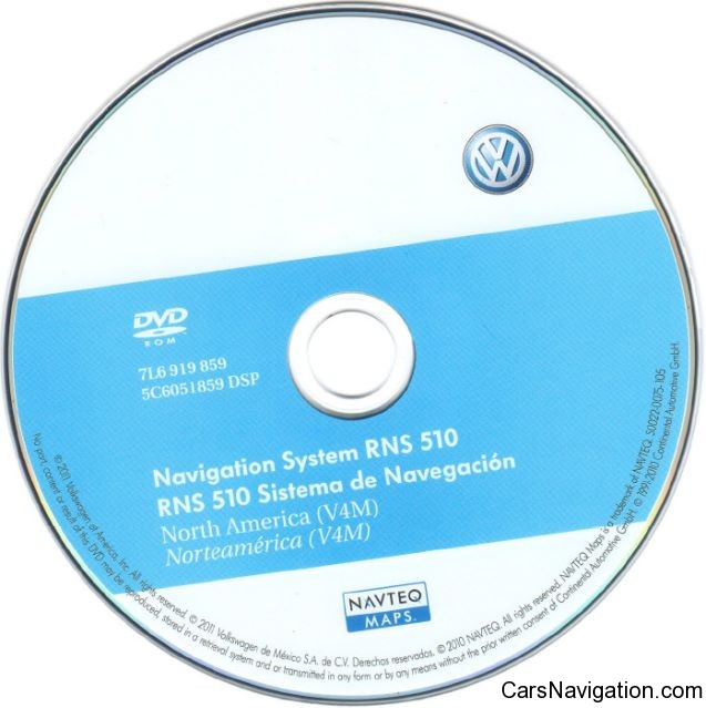 VW Navigation System RNS510 North America