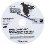 2013 BMW North American Map DVD Professional Region 2